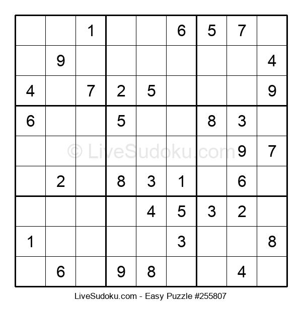 Beginners Puzzle #255807