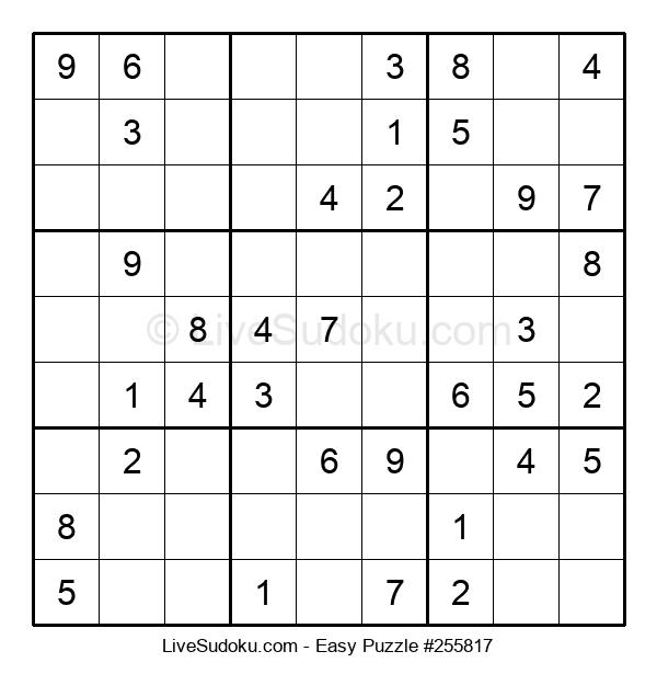 Beginners Puzzle #255817