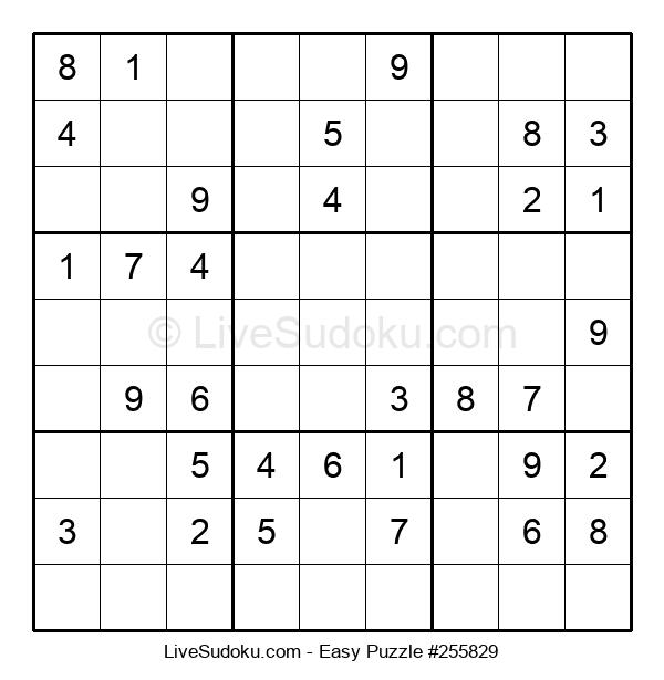 Beginners Puzzle #255829