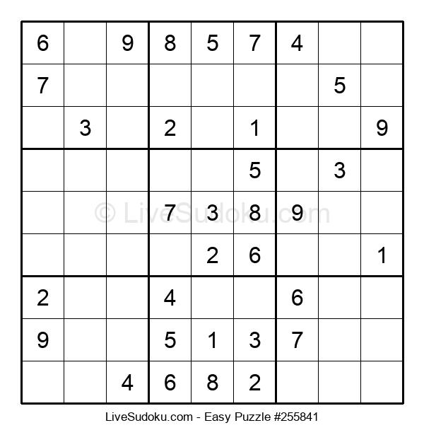 Beginners Puzzle #255841
