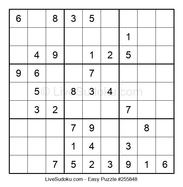 Beginners Puzzle #255848
