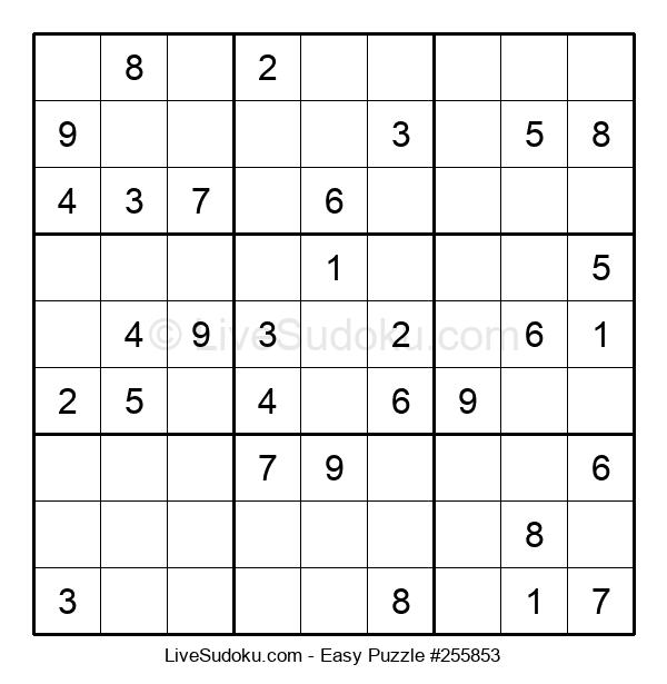 Beginners Puzzle #255853