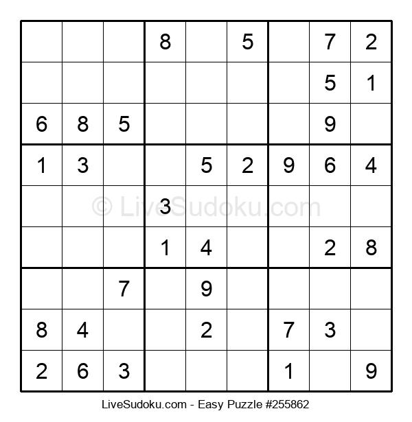 Beginners Puzzle #255862