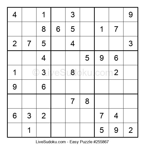 Beginners Puzzle #255867