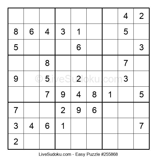 Beginners Puzzle #255868