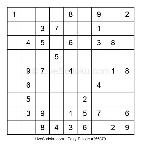 Beginners Puzzle #255879