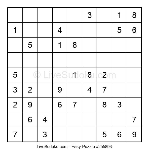 Beginners Puzzle #255893