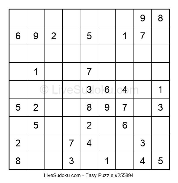 Beginners Puzzle #255894