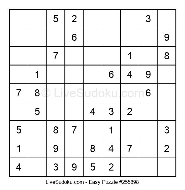 Beginners Puzzle #255898