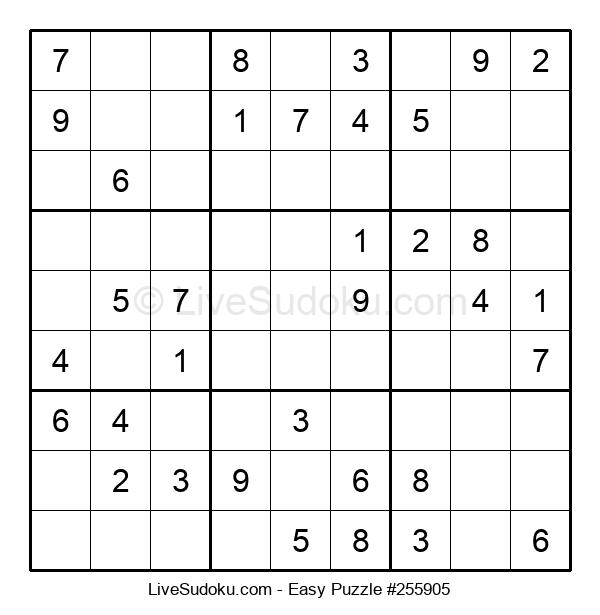 Beginners Puzzle #255905