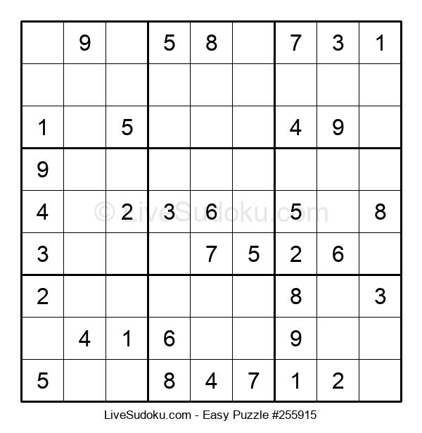 Beginners Puzzle #255915