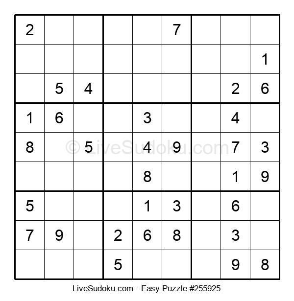 Beginners Puzzle #255925