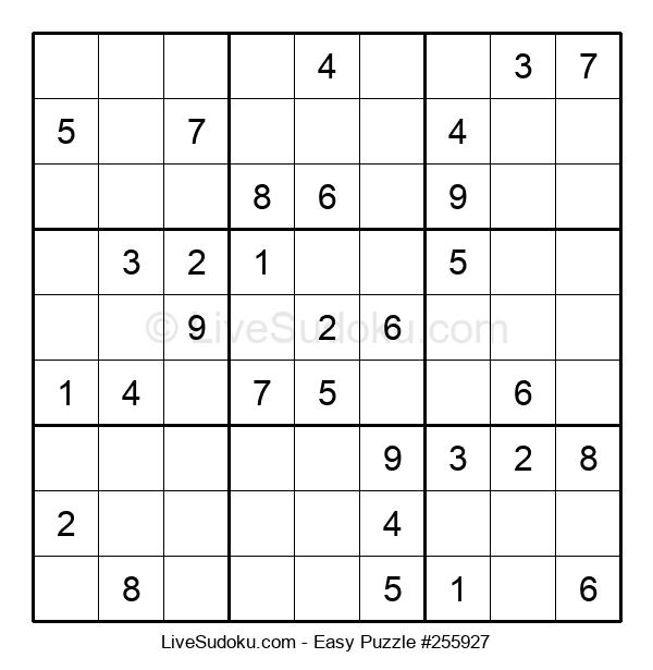 Beginners Puzzle #255927
