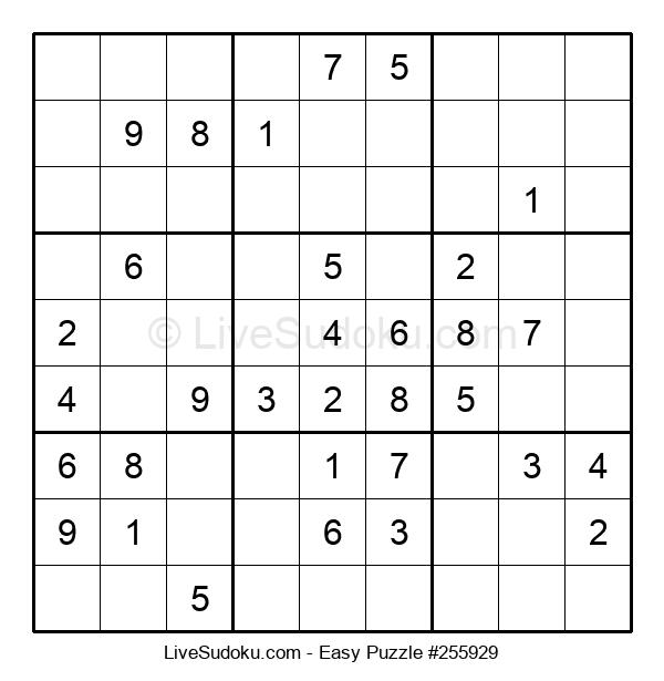 Beginners Puzzle #255929