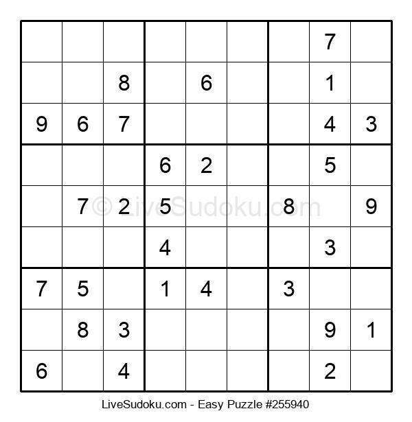 Beginners Puzzle #255940