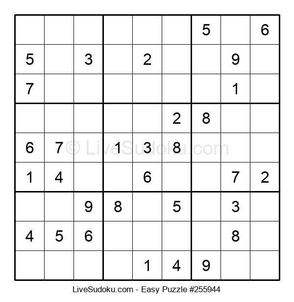 Beginners Puzzle #255944