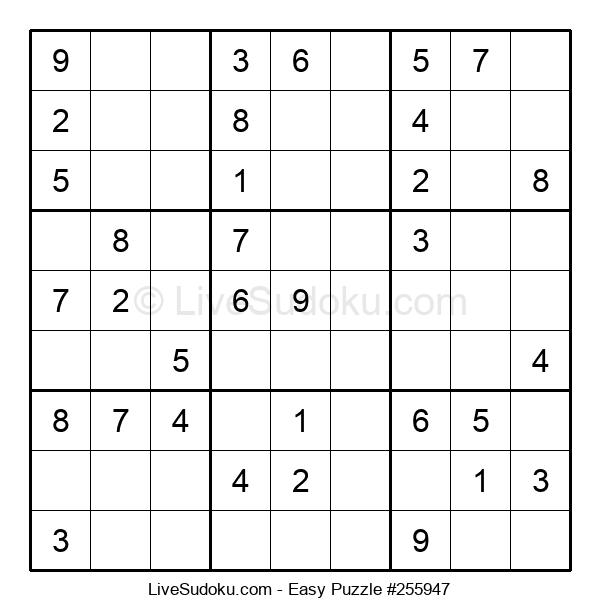 Beginners Puzzle #255947