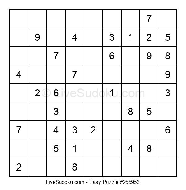 Beginners Puzzle #255953