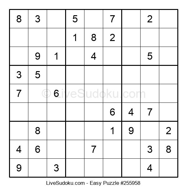 Beginners Puzzle #255958