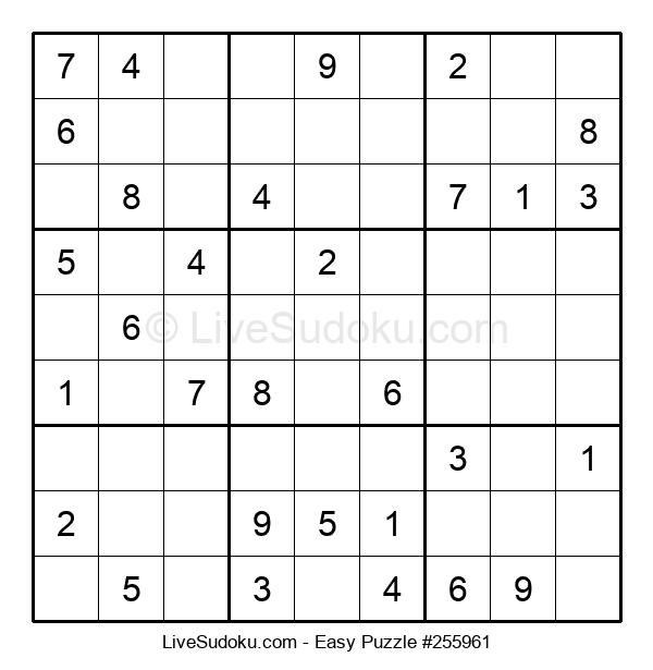 Beginners Puzzle #255961