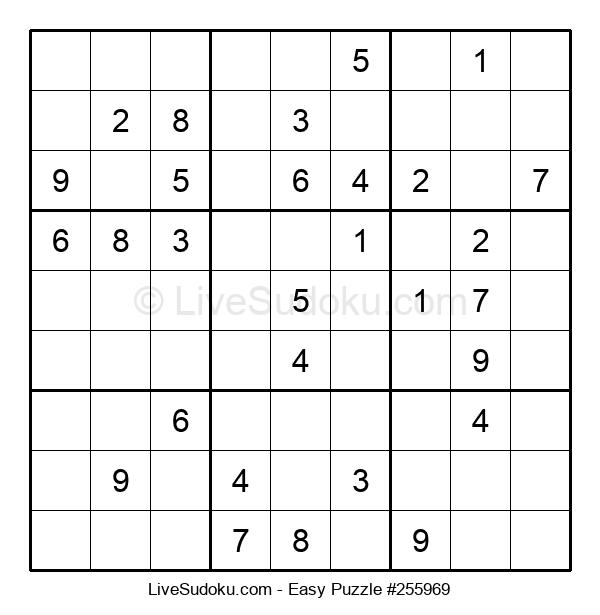 Beginners Puzzle #255969