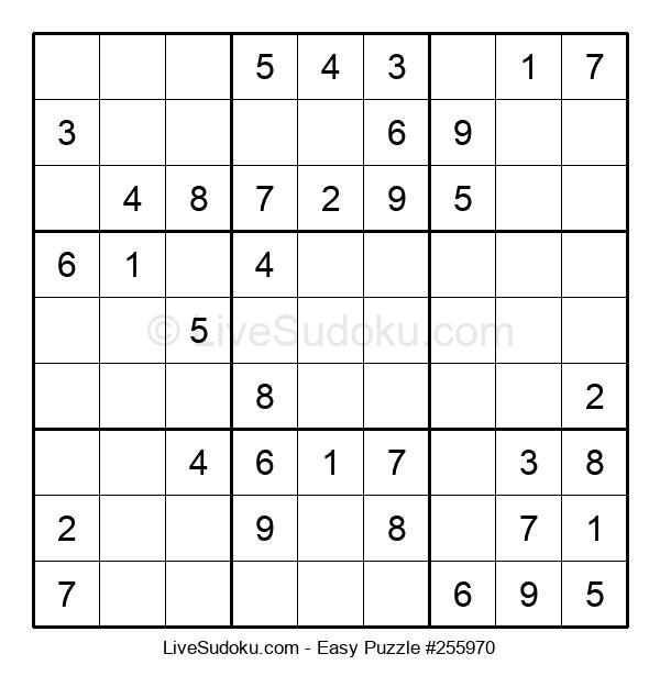 Beginners Puzzle #255970