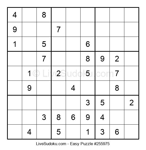 Beginners Puzzle #255975