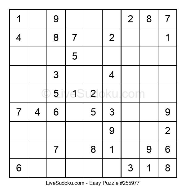 Beginners Puzzle #255977