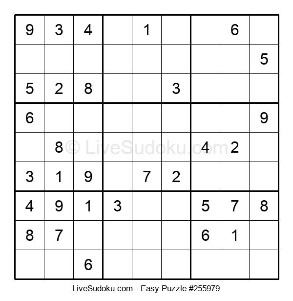 Beginners Puzzle #255979