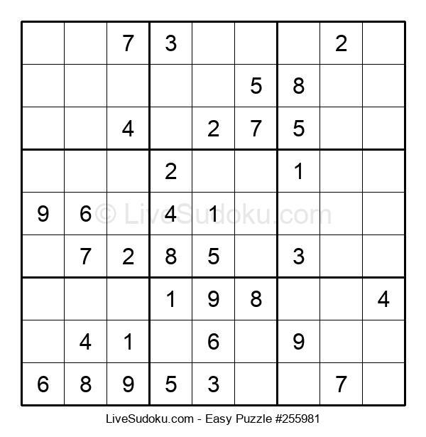 Beginners Puzzle #255981