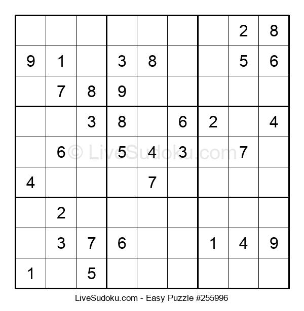 Beginners Puzzle #255996