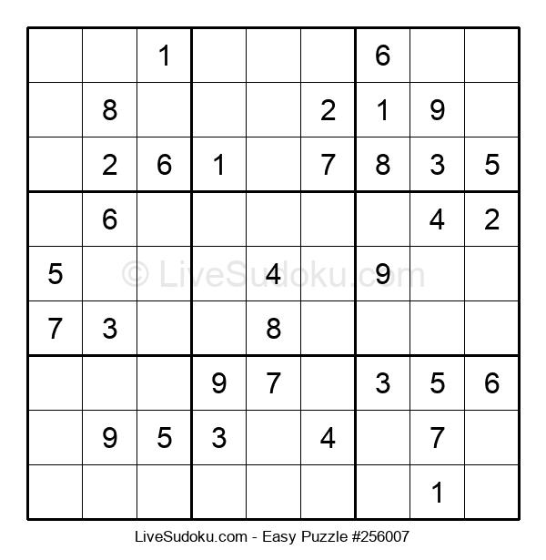 Beginners Puzzle #256007
