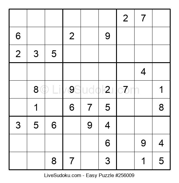 Beginners Puzzle #256009