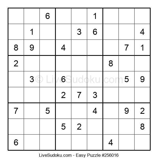 Beginners Puzzle #256016