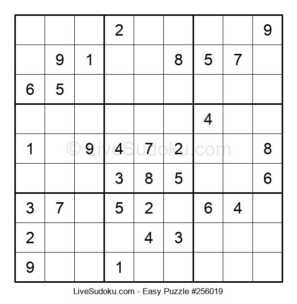 Beginners Puzzle #256019