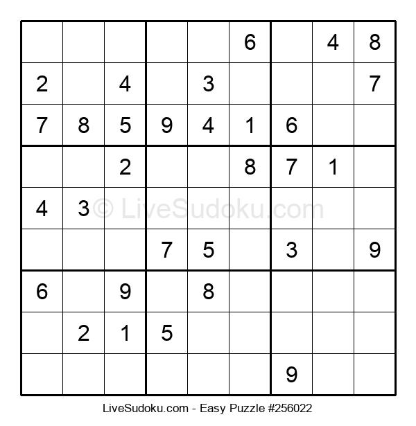 Beginners Puzzle #256022