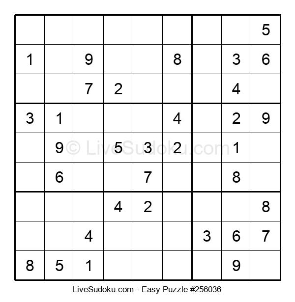 Beginners Puzzle #256036