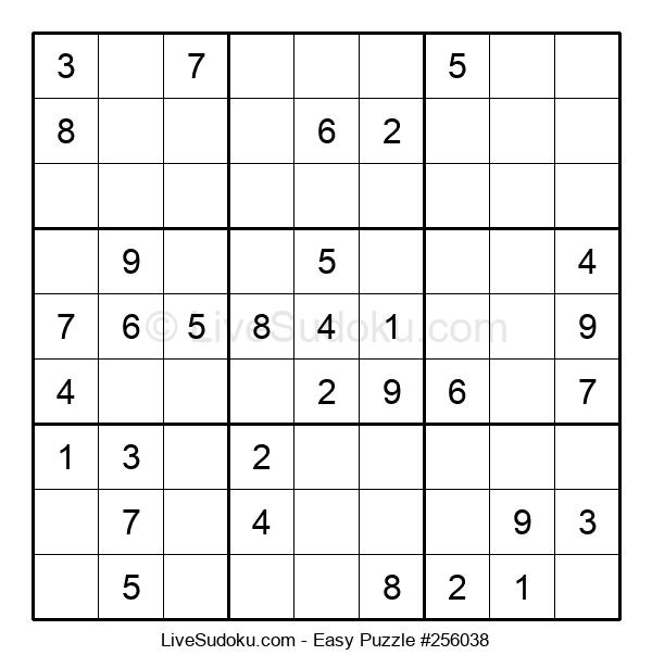 Beginners Puzzle #256038