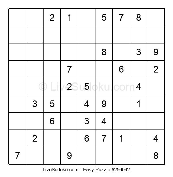 Beginners Puzzle #256042