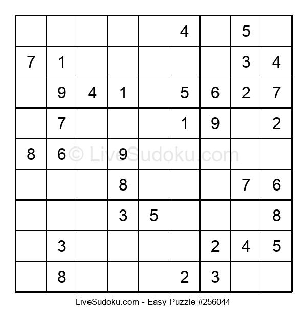 Beginners Puzzle #256044