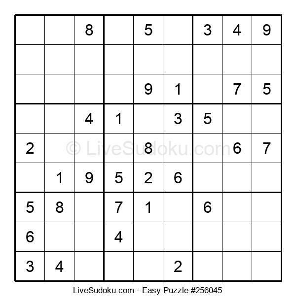 Beginners Puzzle #256045