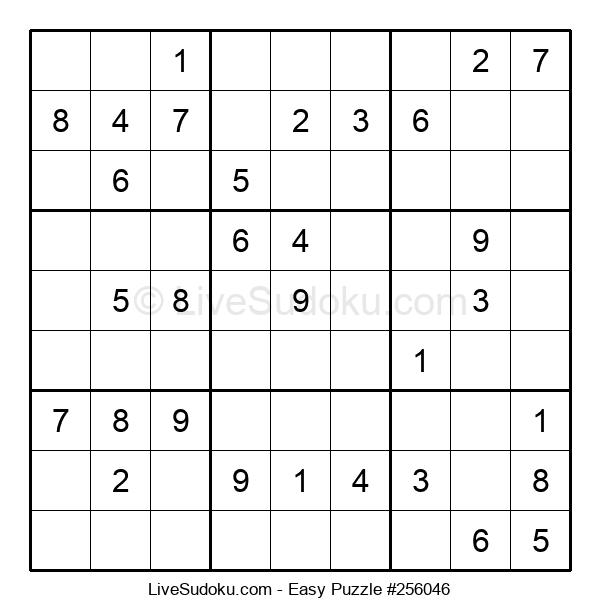 Beginners Puzzle #256046