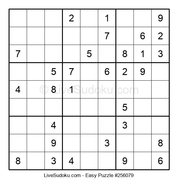 Beginners Puzzle #256079