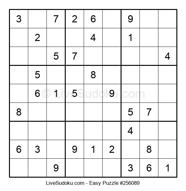 Beginners Puzzle #256089