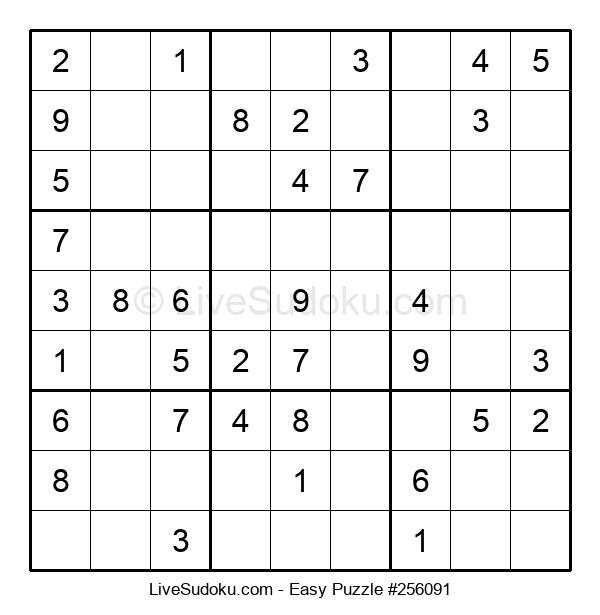 Beginners Puzzle #256091