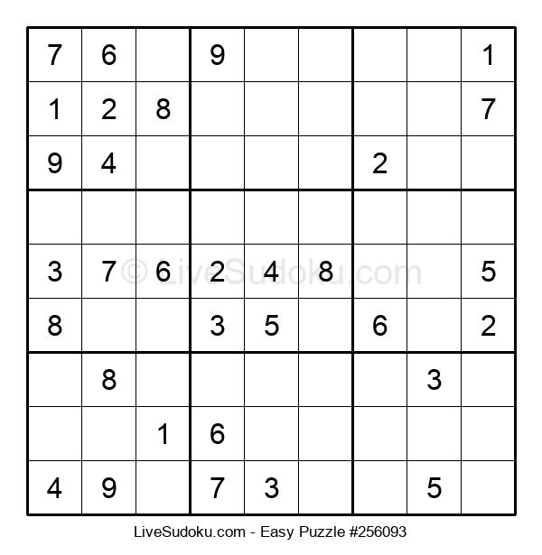 Beginners Puzzle #256093