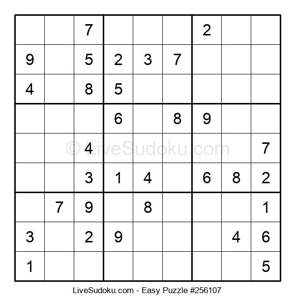 Beginners Puzzle #256107