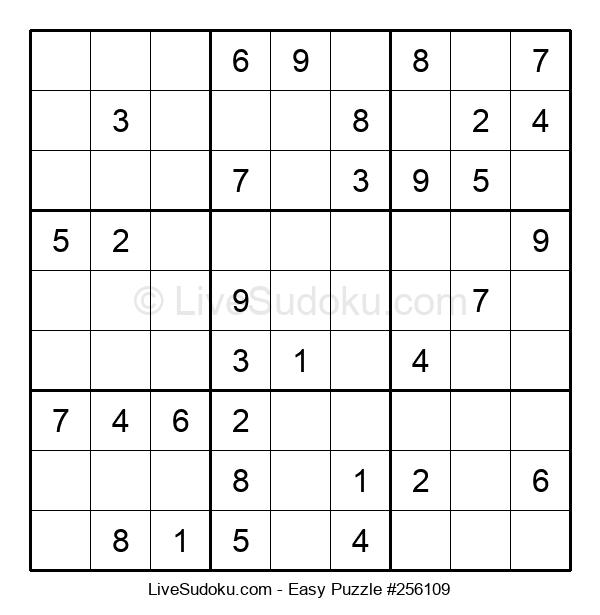Beginners Puzzle #256109
