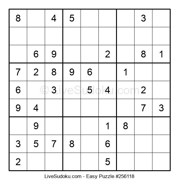 Beginners Puzzle #256118