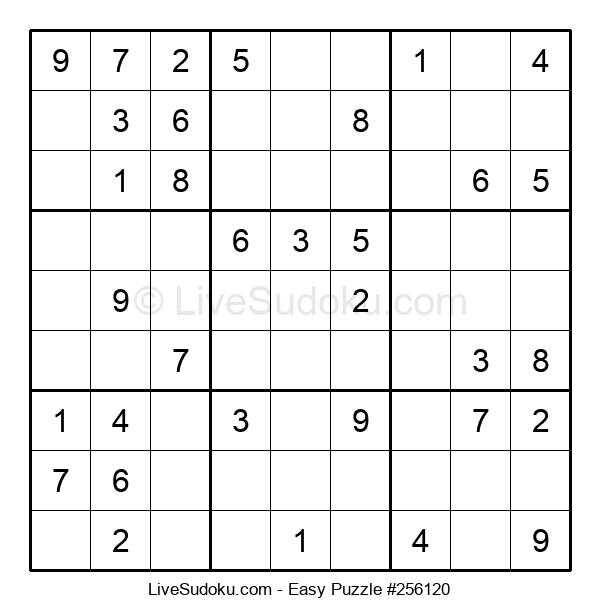 Beginners Puzzle #256120